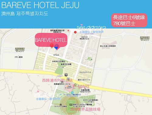 济州岛巴士路线图