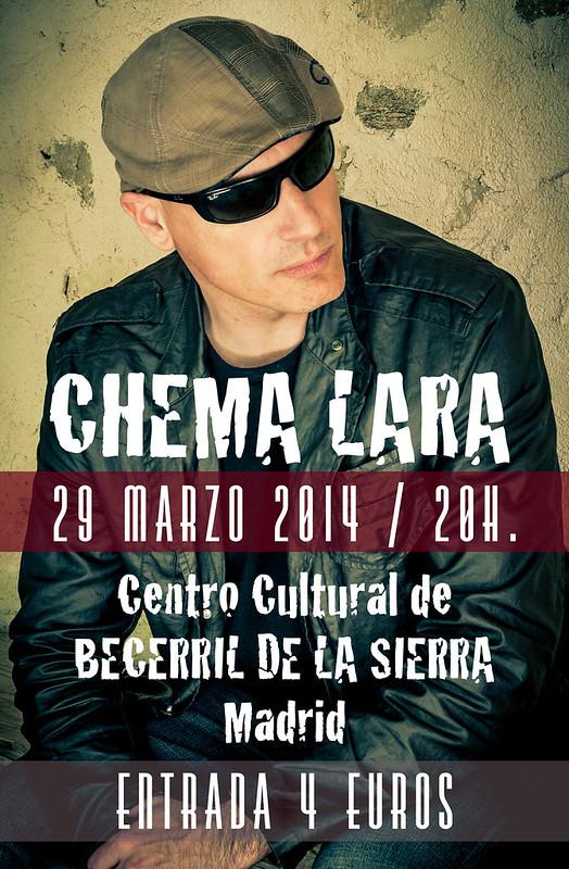 Chema Lara en concierto 29/03/2014