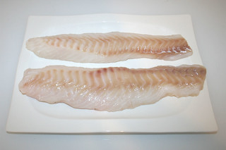 01 - Zutat Kabeljau / Ingredient cod fish