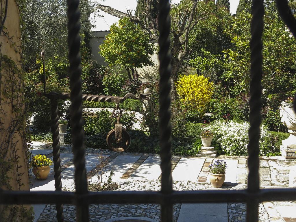 El patio del Carmen del Aljibe del Rey