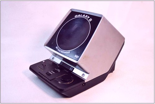 Galaxy 2 Handheld Game circa 1981.