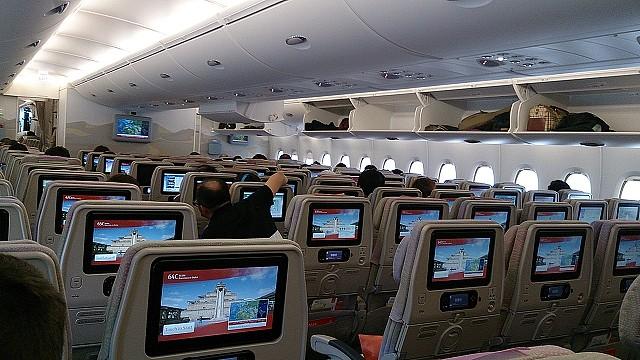 エミレーツ航空 機内エンターテインメントシステムICE