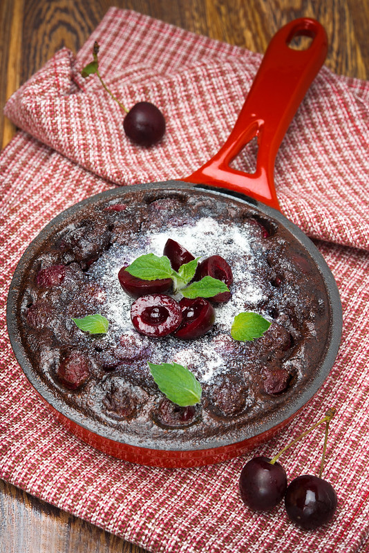 chocolate Clafoutis