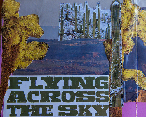 Book Making in the Sonoran Desert - Flying Across the Sky