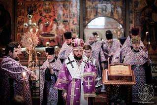 Всенощное бдение в Софийском соборе 200