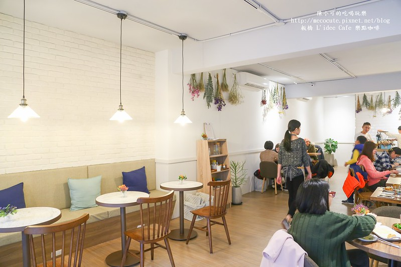 L'idée Café 樂點咖啡【捷運板橋站美食】L'idée Café 樂點咖啡,全天候早午餐 義大利麵 咖啡 鬆餅甜點 疏食餐廳,不限時間、有插座的咖啡館