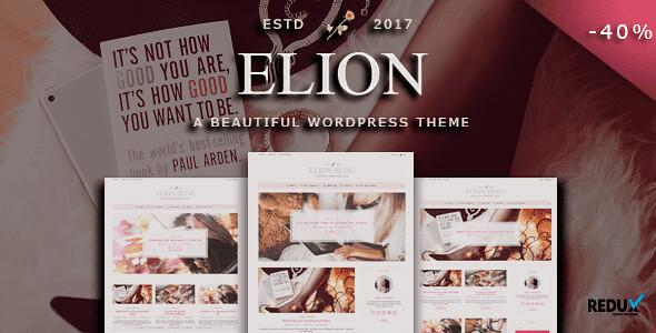 Elion WordPress Theme free download