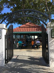 Entrance Domino Park Little Havana Calle Ocho Miami