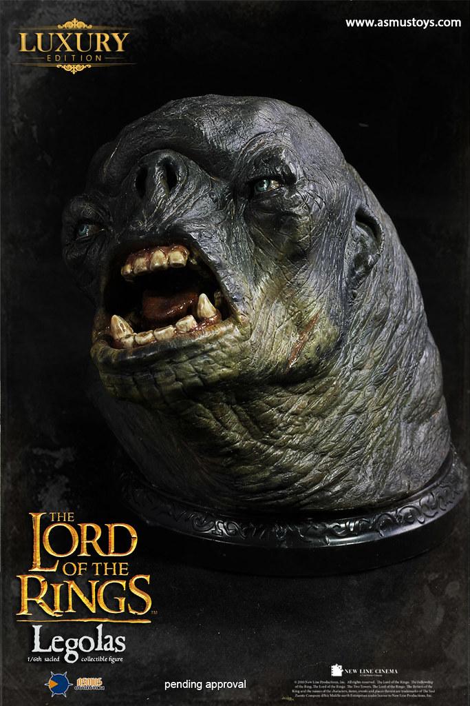 Asmus Toys「魔戒系列」The Lord of the Rings Series:「勒苟拉斯」Legolas 1/6比例人偶