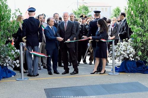 Inaugurazione nuovo Polo delaa Sicurezza foto di Alessandro Vivarelli