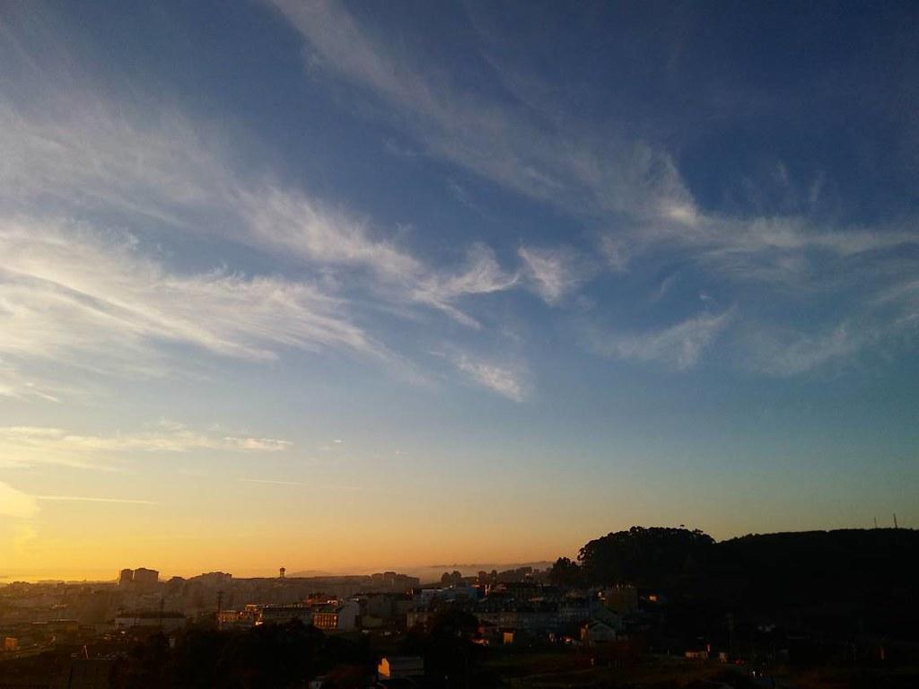 Amanecer en Coruña. #primavera #coruña