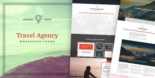 Travel Dojo WordPress Theme free download