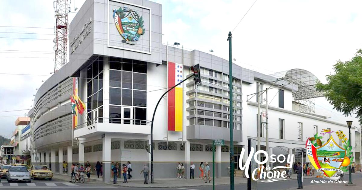 Municipio de Chone construirá varias obras por emergencia