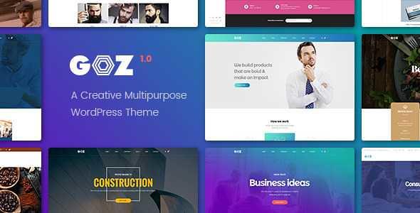 Goz WordPress Theme free download