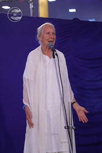 Devotee from Germany, Shneha Jyoti