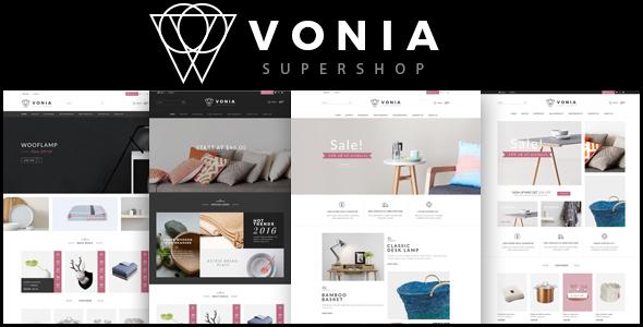 Vonia v1.0 – Multipurpose Responsive Opencart Theme