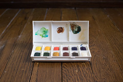 Watercolor Paints - Must link to https://createlet.com