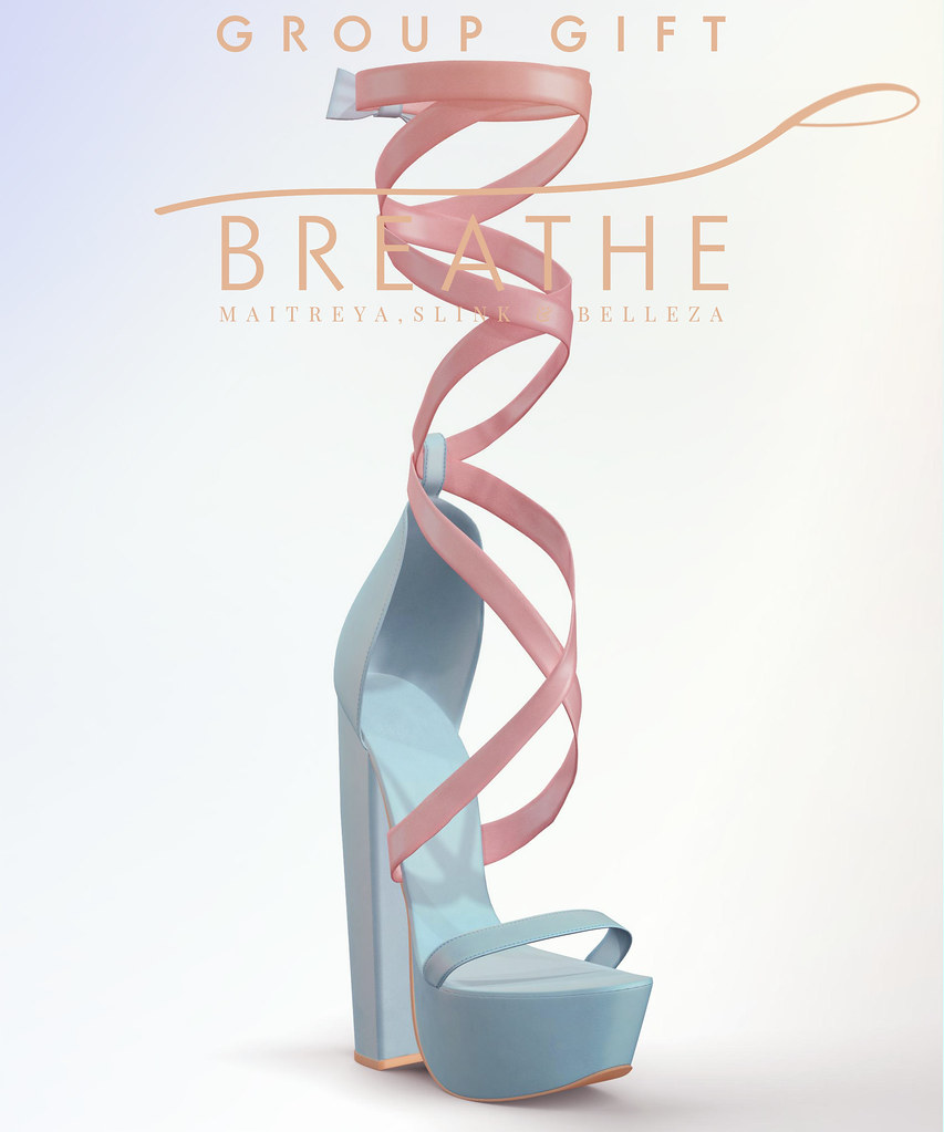 [BREATHE]-Lola Heels-GIFT - SecondLifeHub.com