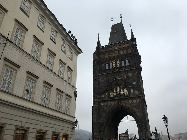 Charles Bridge, Prague, Czech, Apple iPhone 6s, iPhone 6s back camera 4.15mm f/2.2