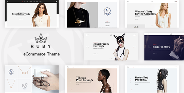 Ruby v1.0 – Jewelry Store Responsive Prestashop Theme