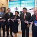 Chile contó con un amplio stand en PDAC 2017, que agrupó a empresas e instituciones sectoriales. En la foto, la inauguración del pabellón chileno