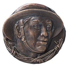 Rememberance medal by Susan Taylor obverse