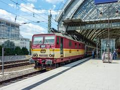 371 001-9 ČD 'Lucka' Dresden Hbf 26.07.10