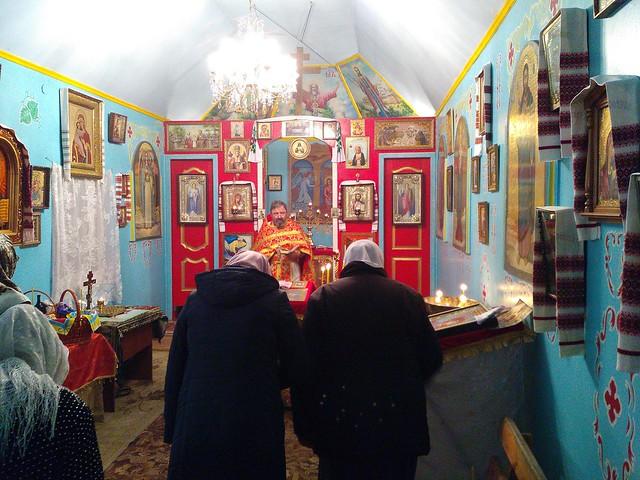 Пасхальна літургія в храмі Святого Благовірного князя Андрія Смоленського 16 квітня 2017 року
