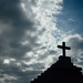 Gravestone Cross and Blue Sky, Riohacha Colombia by AdamCohn