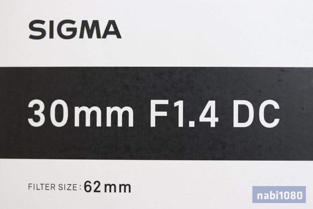 SIGMA 30mm F1.4 DC HSM02