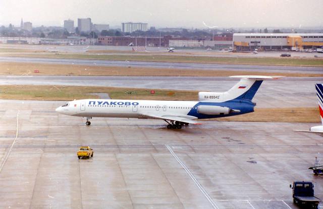 A2517E 26Aug00 RA-85542 Tu-154 LHR