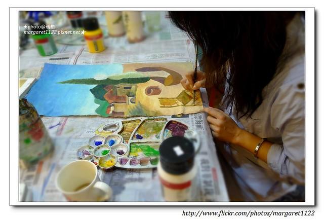 瑪格親子畫畫課