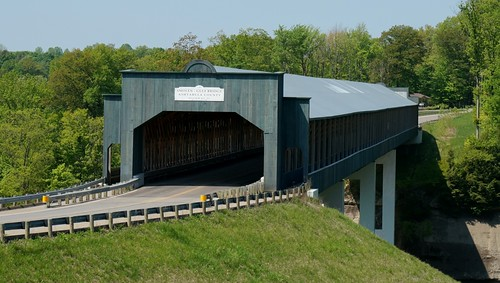 World's longest covered bridge - Ashtabula, Ohio
