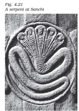 Image result for serpent hoods sanchi