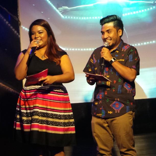 Sidang Media Akademi Fantasia 10 diacarakan oleh Dina Nadzir & Zahid @dinanadzir @zahidbaharudin #AF10