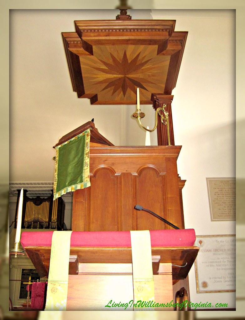 Bruton Parish Lectern