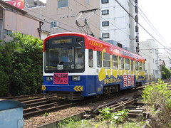 Hankai Tramway 602 (May 2013)