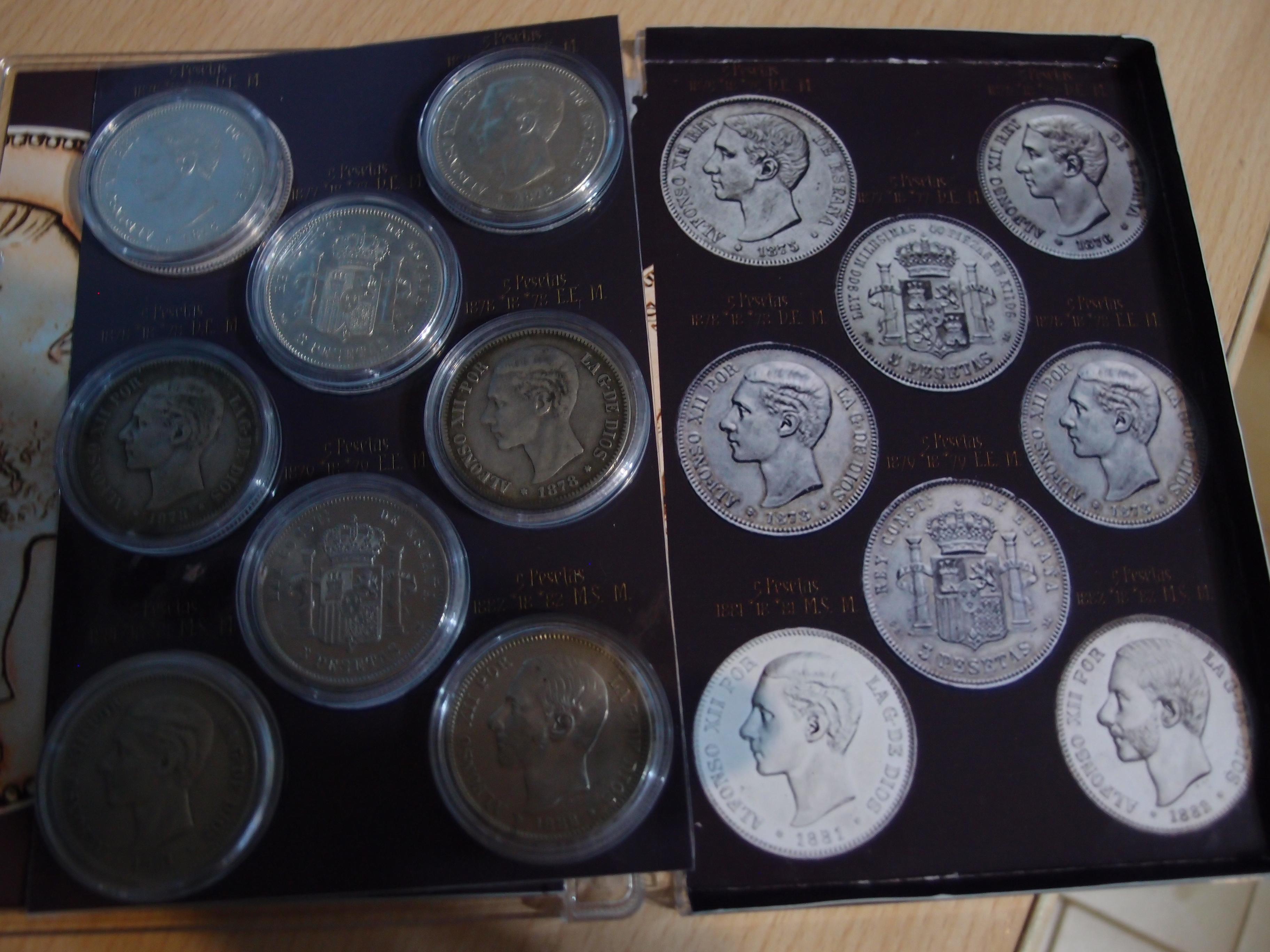 Coleccion Alfonso XII y Monetario 9057815366_e22c180a51_o