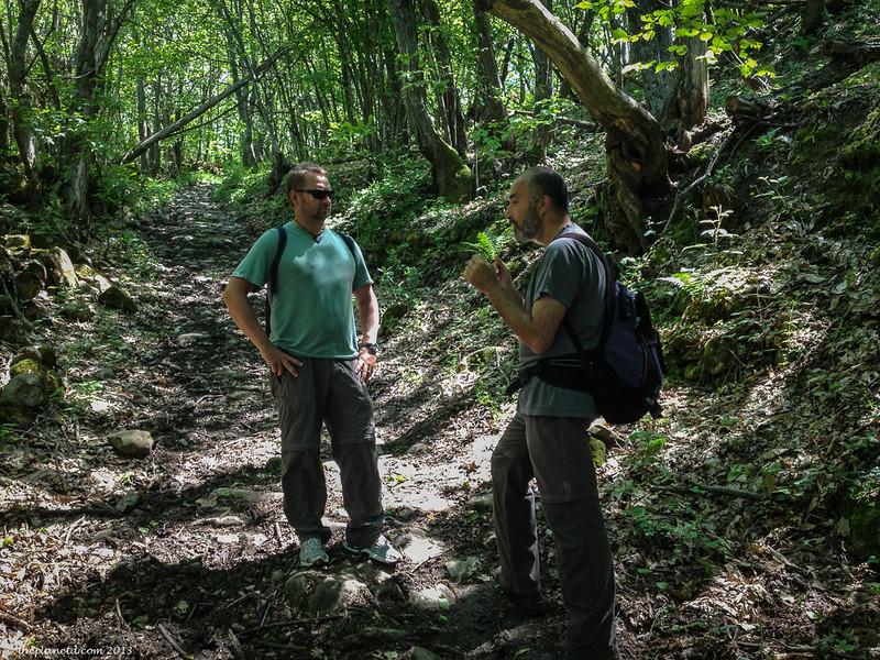 trekking Italy
