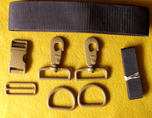 Messenger bag hardware