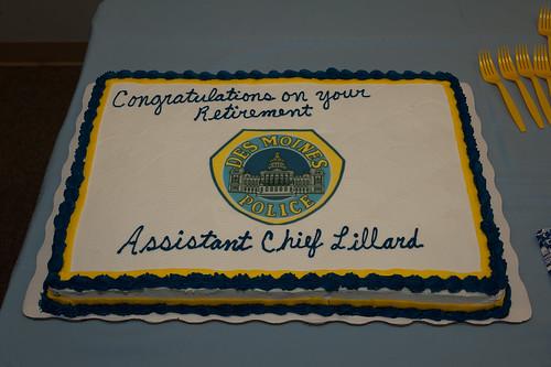 DMPD Assistant Chief Dave Lillard Retirement Celebration June 28, 2013