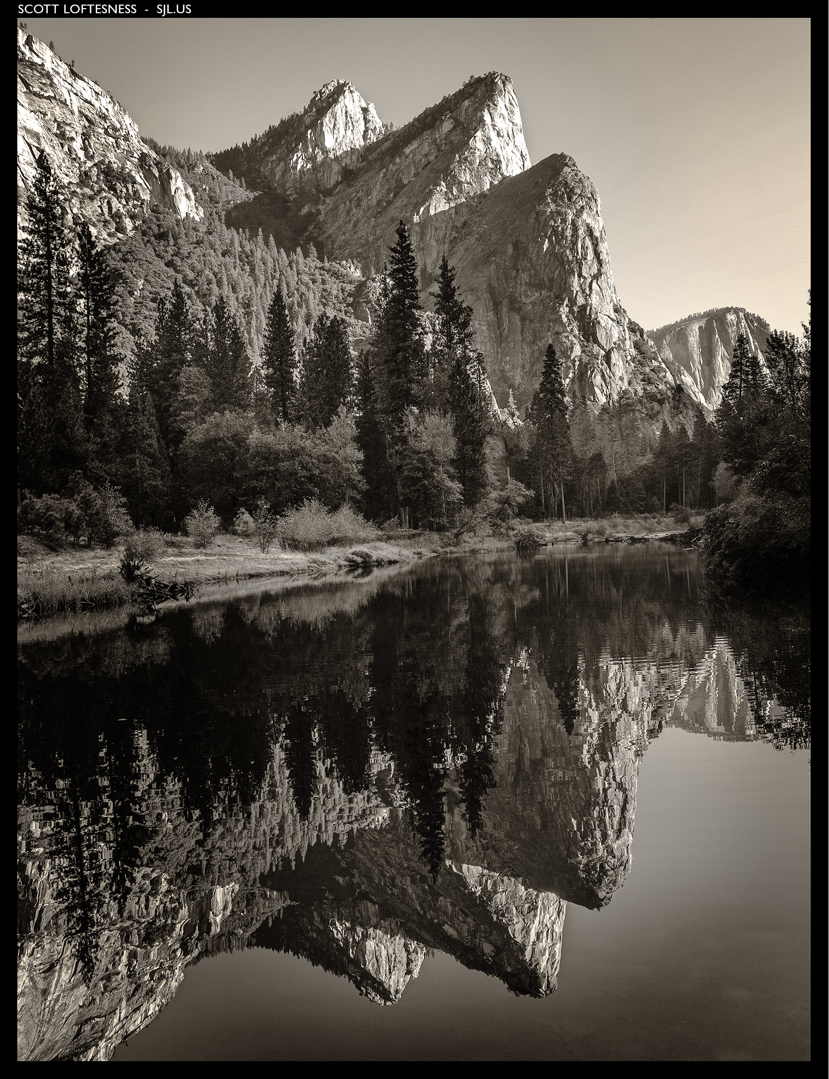 Three Brothers - Yosemite - 2010