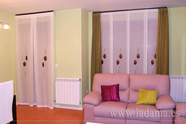 Cortinas para sal n moderno y panel japon s flickr photo sharing - Panel japones moderno ...