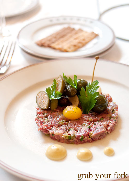 prime steak tartare at bouchon bistro beverly hills la los angeles