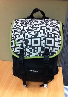 QRbackpack