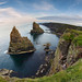 Duncansby Stacks Fisheye by @marco
