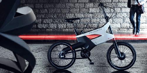 Peugeot AE21 – электрический велосипед для города