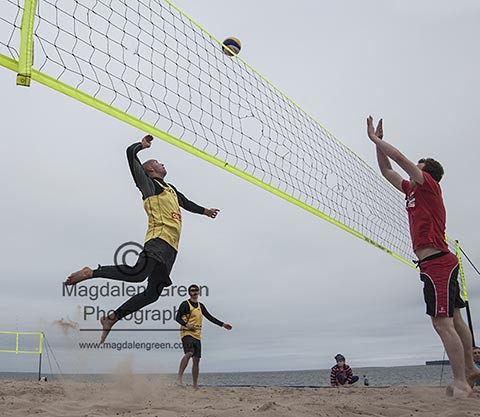 Beach Volleyball - Broughty Ferry by Dundee Tayside  Scotland