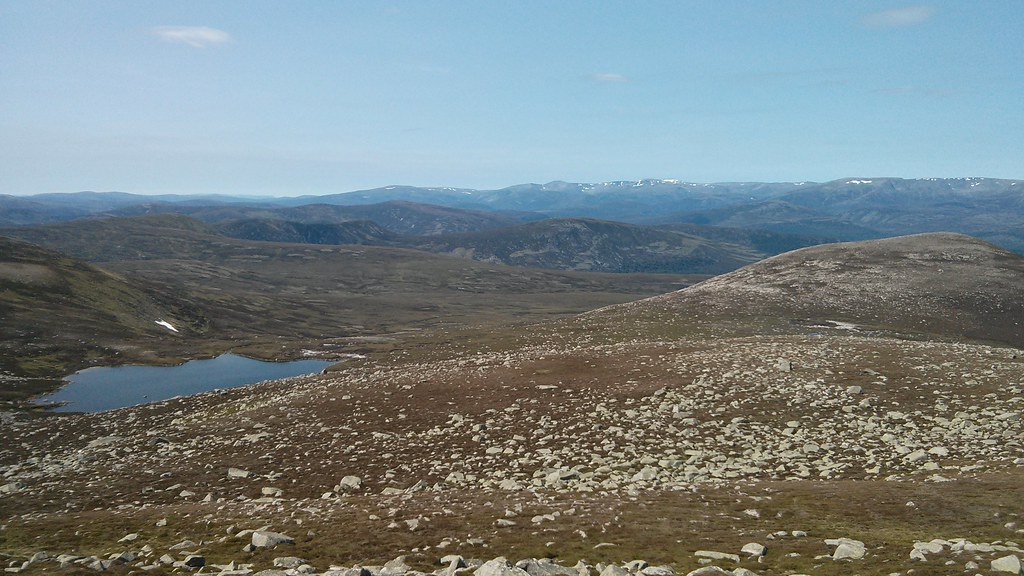 Sandy Loch and the Cairngorms