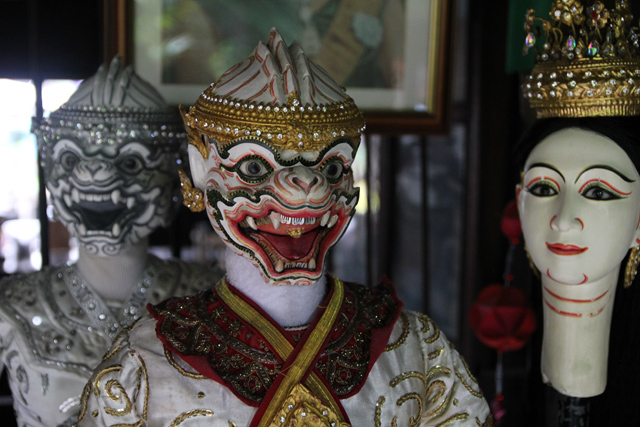 Traditional Thai puppets